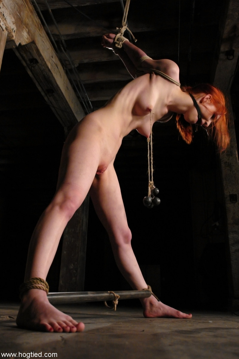 adorablyextreme - Redhead Weighed Down