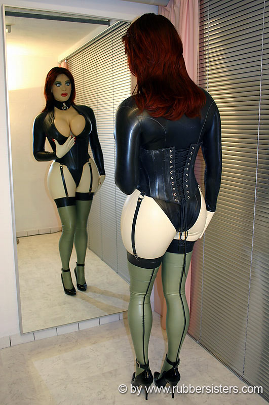 rubber Bdsm lover and latex